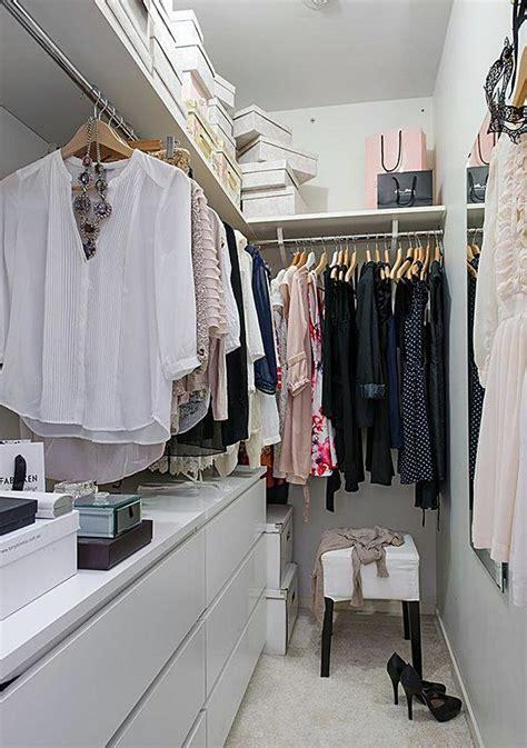 wardrobe ideas for small bedrooms 10 dicas para ter pequenos closets funcionais simples 20109
