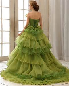princess gown wedding dress green princess wedding dress sang maestro