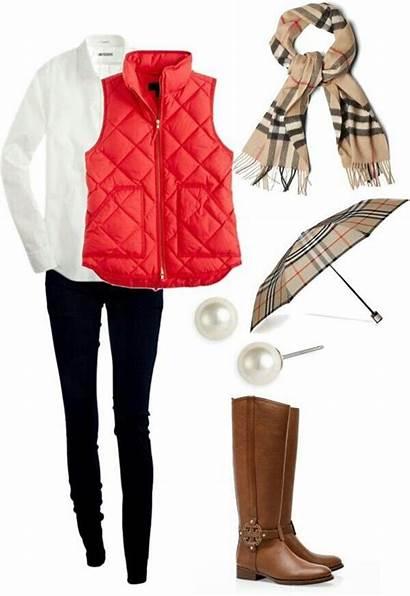 Outfits Moda Chaleco Damas Ropa Burberry Casual