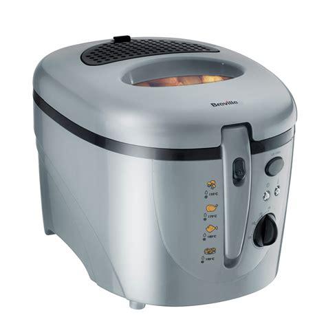 fryer deep fat oil food 1kg breville 2l silver fryers cooking master prep