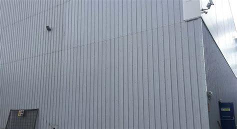 kingspan wall cladding dilapidation works  milton keynes