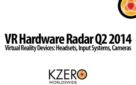 Virtual Reality Hardware Radar Q2 2014