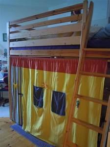 Hochbett Holz Kinder : ikea holz hochbett 140x200 h henverstellbar matratze ~ Michelbontemps.com Haus und Dekorationen