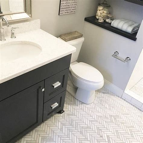 Deco Bathroom Lighting Ideas by Hton Large Herringbone Marble Mosaic Tile Your