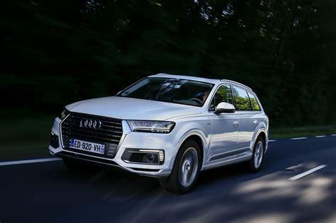 Essai Audi Q7 Etron  L'hybride Diesel Fait De La