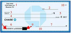 Parts Of A Check Labeled  U0026 Explained  With Diagrams   2019