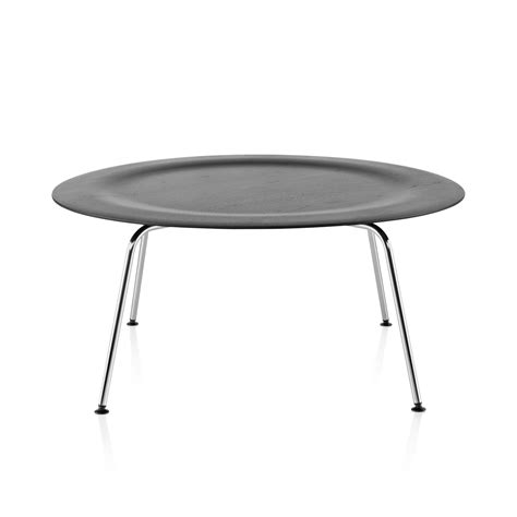 herman miller table base eames molded plywood coffee table metal base by charles
