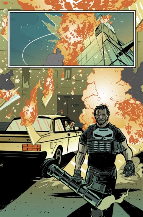 Frank Castle Heads West In The Punisher #1 Preview