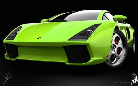 Lamborghini Green Concept Wallpaper
