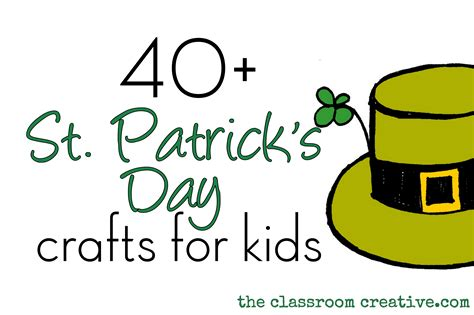st patricks day crafts for preschoolers st s day craft ideas for 812
