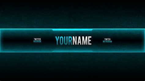 gaming banner creator  youtube youtube gaming banner