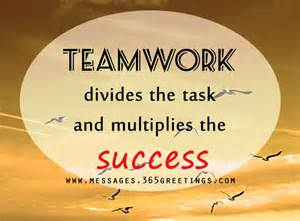 Working Together Teamwork Quotes