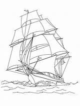 Sailboat Coloring Printable Ausmalbilder Segelboot Malvorlagen Ausdrucken Kostenlos Zum sketch template
