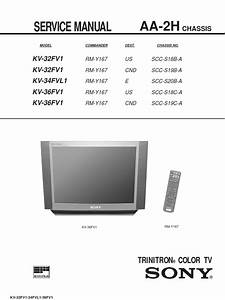 Trinitron Color Tv Sony Service Manual