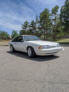1993 Ford Mustang Hatchback White RWD Manual LX - Classic Ford Mustang 1993 for sale
