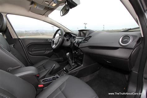 hatchback cars interior 2014 ford fiesta hatchback interior 006 the truth about cars