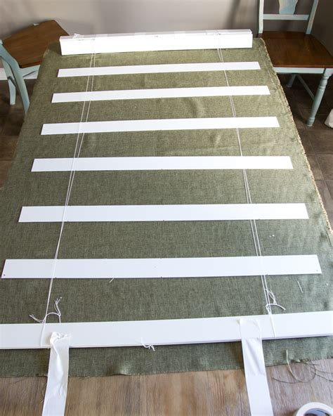 how to make blinds diy burlap shades from blinds bless er house
