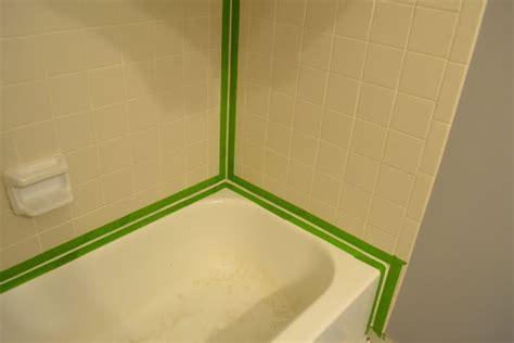 how to re caulk a shower or bathtub