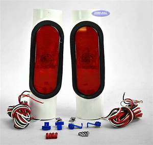 Boat Trailer Incandescent Pipe Light Kit For 2 U0026quot  Pvc
