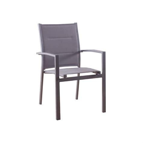 fauteuil de jardin texaline azua gris rembourré achat