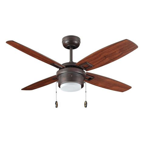 troposair sprite 42 in rubbed bronze ceiling fan with