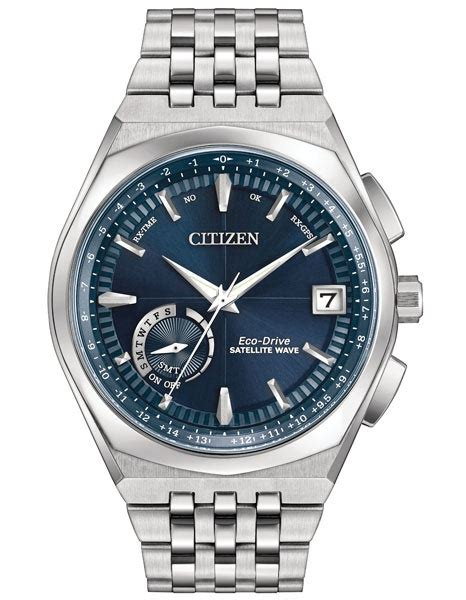 78877 Lxrco Coupon by Citizen Mens Eco Drive Satellite Wave Blue Day