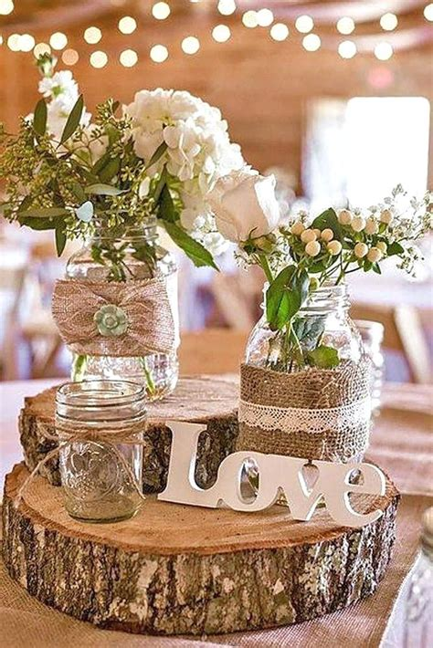 wedding table decorations rustic rustic table decorations rustic wedding table decoration 1184