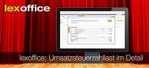Neu Berechnen : lexoffice auftrag finanzen umsatzsteuerzahllast berechnen ~ Themetempest.com Abrechnung