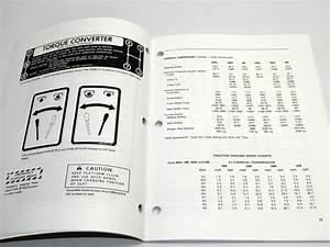 Ford 230a 340a 445 530a 540a 545 Tractor Operators Maintenance Manual Book New