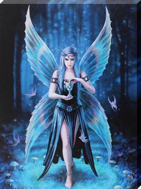 anne stokes enchantment canvas buy   grindstorecom