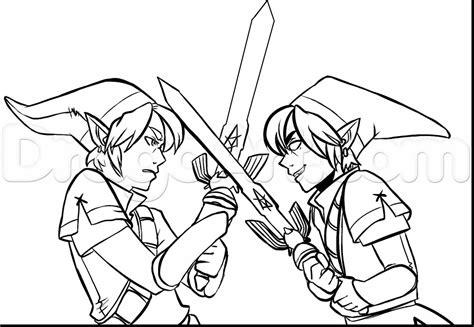 Zelda Coloring Pages - Eskayalitim