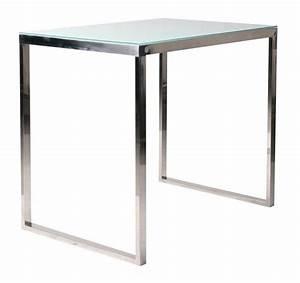 Table Haute Rectangulaire : table haute design inola rectangulaire mobilier ~ Teatrodelosmanantiales.com Idées de Décoration