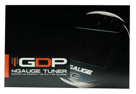 gdp ngauge dpfegr upgrade tuner     powerstroke