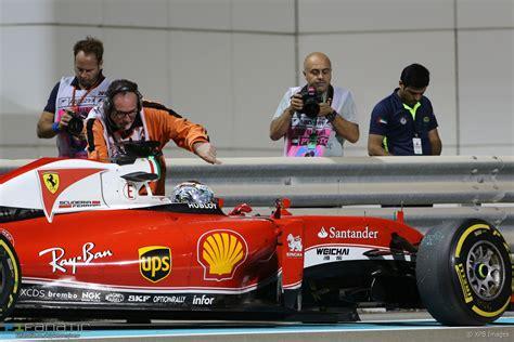 Sebastian vettel says he cannot excuse ferrari's disappointing 2016 form but believes the team has 'raised the bar' compared to last year. Sebastian Vettel, Ferrari, Yas Marina, 2016 · RaceFans
