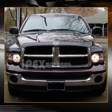 2005 dodge ram lights 2002 2005 dodge ram 1500 2500 3500 black headlights