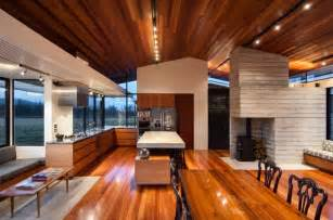 Home Interior Materials Modern Ranch Style Home With Land Loving Layout And Materials Modern House Designs