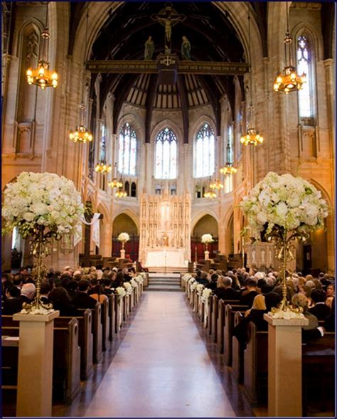how to decorate church for wedding