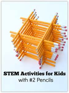 stem activities for with 2 pencils