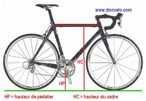 comment mesurer taille cadre velo docvelo geometrie des cadres de bicyclettes