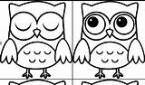 Coloring Owl Pages Owls Easy Animal Popular Pretty Library Clipart Apps Google Play Template Coloringhome sketch template