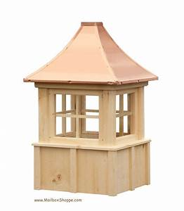 Board batten cupola with windows for Cupola with windows