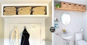 optimiser une petite salle de bain avec une etagere bien With optimiser une petite salle de bain