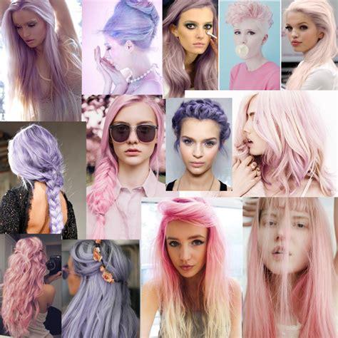 Hannah Elizabeth Pastel Hair Inspiration