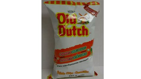 best potato chip brand old dutch recalls one of its potato chip brands over salmonella concerns toronto star