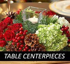 Christmas Table Centerpieces Christmas Flowers