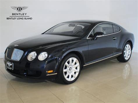2005 Bentley Continental Gt  Rollsroyce Motor Cars Long