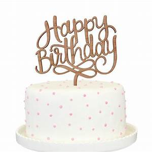 Happy Birthday Cake Topper – Alexis Mattox Design