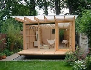 Das Gartenhaus selber bauen, Bausatz oder als Fertighaus