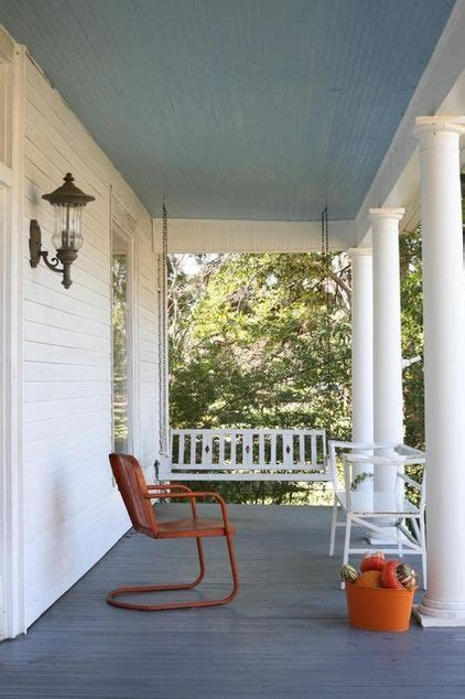 both colors are standard southern porch colors the blue