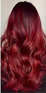 Ombré Hair Cuivré : coloration ombr hair rouge hair styles2 dyed red ~ Melissatoandfro.com Idées de Décoration